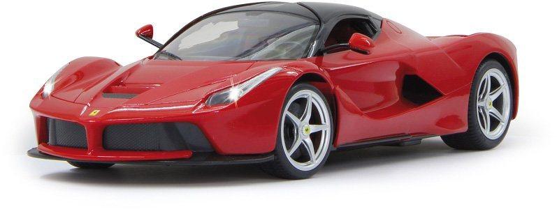 JAMARA RC Fahrzeug mit LED Beleuchtung, »Ferrari LaFerrari 40MHz 1:14 rot« in rot