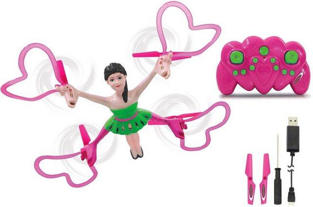 Drohne für Mädchen Quadrella Quadrocop auf rc-flugzeug-kaufen.de ansehen
