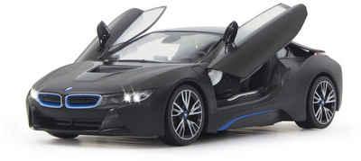 JAMARA RC Fahrzeug mit LED Beleuchtung, »BMW i8 40MHz 1:14 schwarz« Sale Angebote