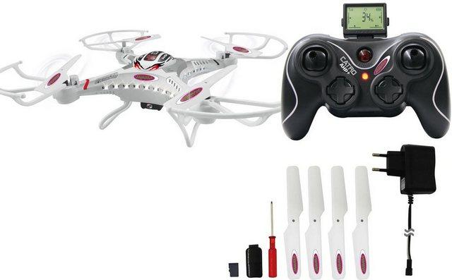 RC Drohne mit HD Kamera Catro Jamara auf rc-flugzeug-kaufen.de ansehen