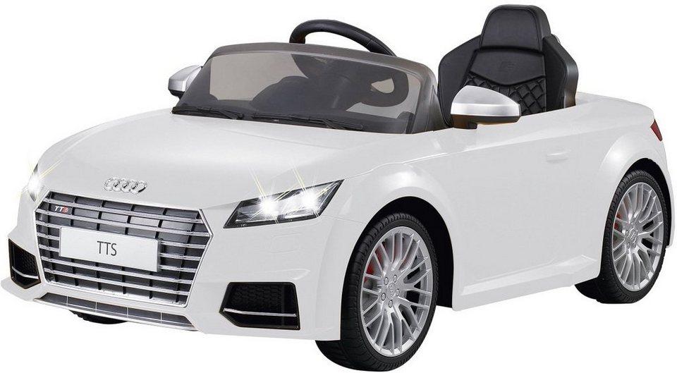 JAMARA Elektrofahrzeug für Kinder, »JAMARA KIDS Ride On Audi TTS Roadster weiß 6V« in weiß
