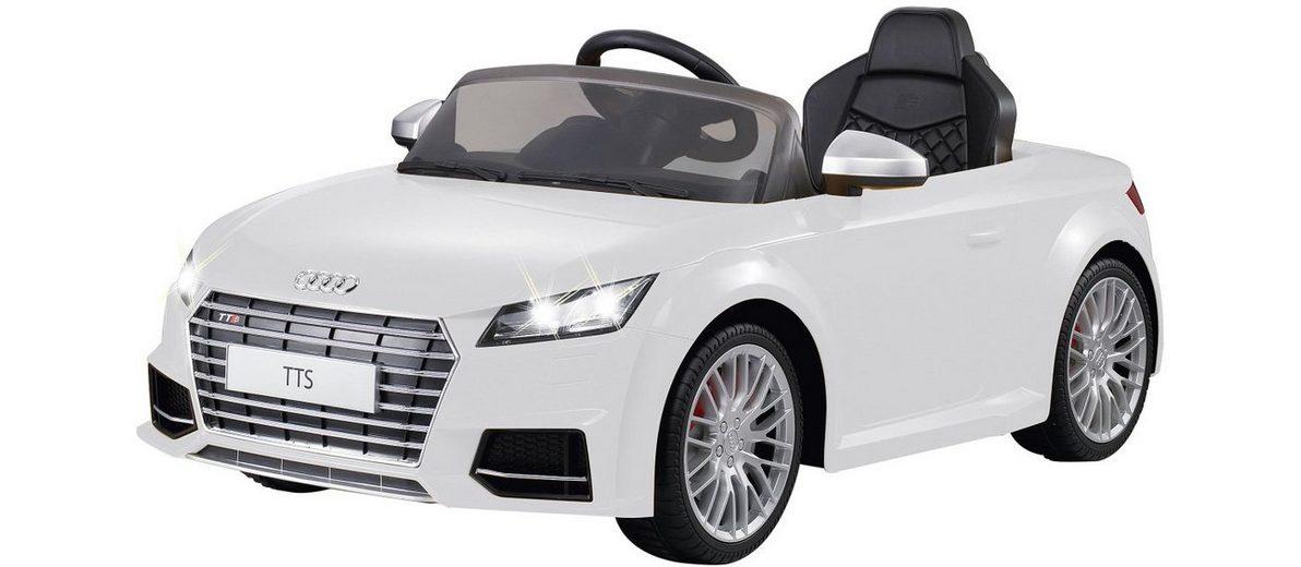 JAMARA Elektrofahrzeug für Kinder, »JAMARA KIDS Ride On Audi TTS Roadster weiß 6V«