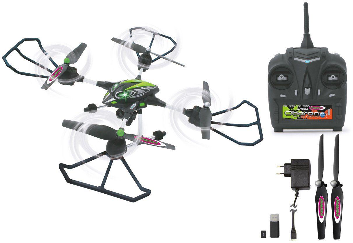 JAMARA Quadrocopter mit Kamera, »RC Oberon Altitude AHP 2,4 GHz schwarz/grün«
