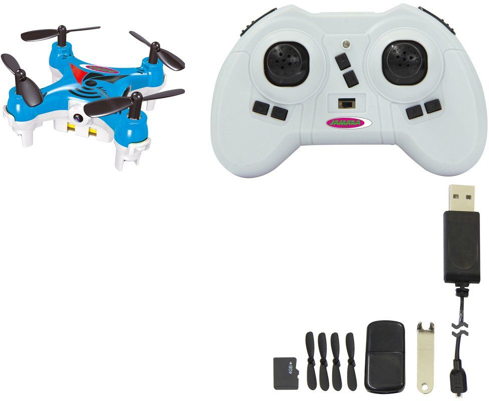 JAMARA Quadrocopter mit Kamera, »RC 4Copter MiCoSpy 2,4 GHz blau«