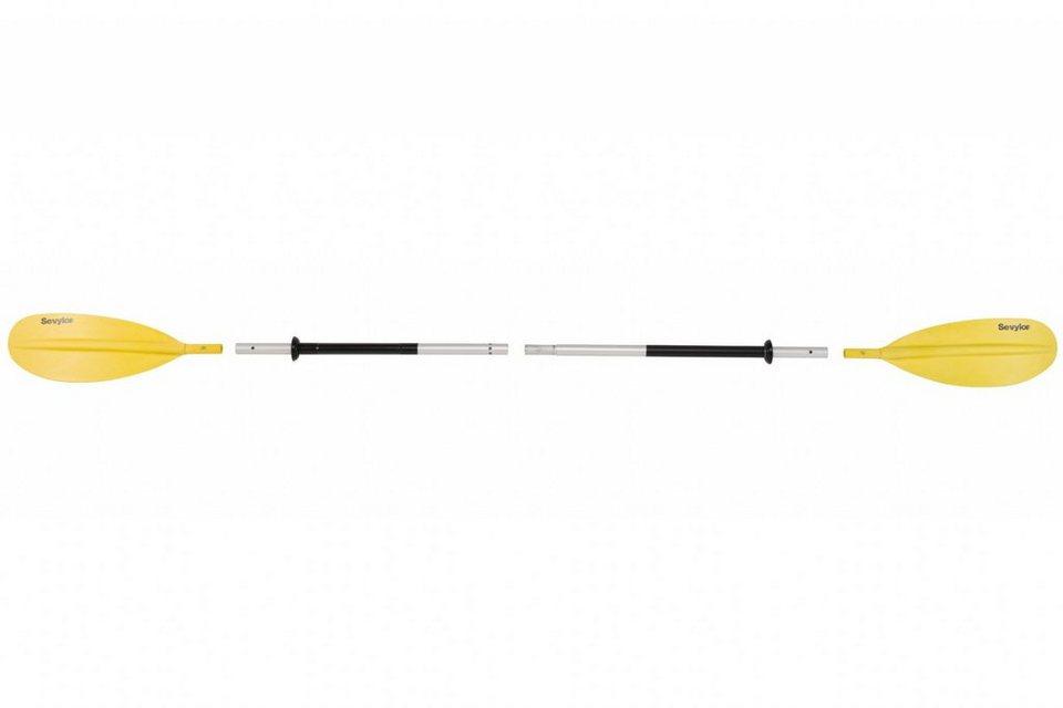 Sevylor Paddel »K-COMPACT230 Alu-Doppelpaddel« in gelb
