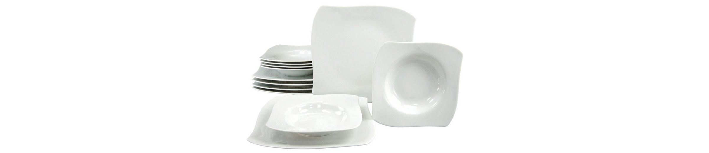 CreaTable Tafelservice, Porzellan, 12 Teile, »PRIAMO«