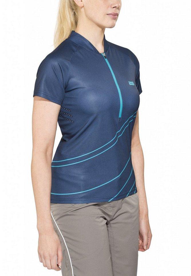 IXS Radtrikot »Trail 6.2 Women Jersey« in blau