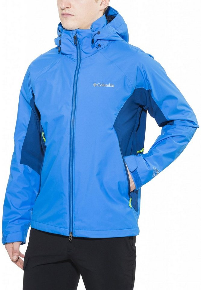 Columbia Regenjacke »On the Mount Stretch Jacket Men« in blau