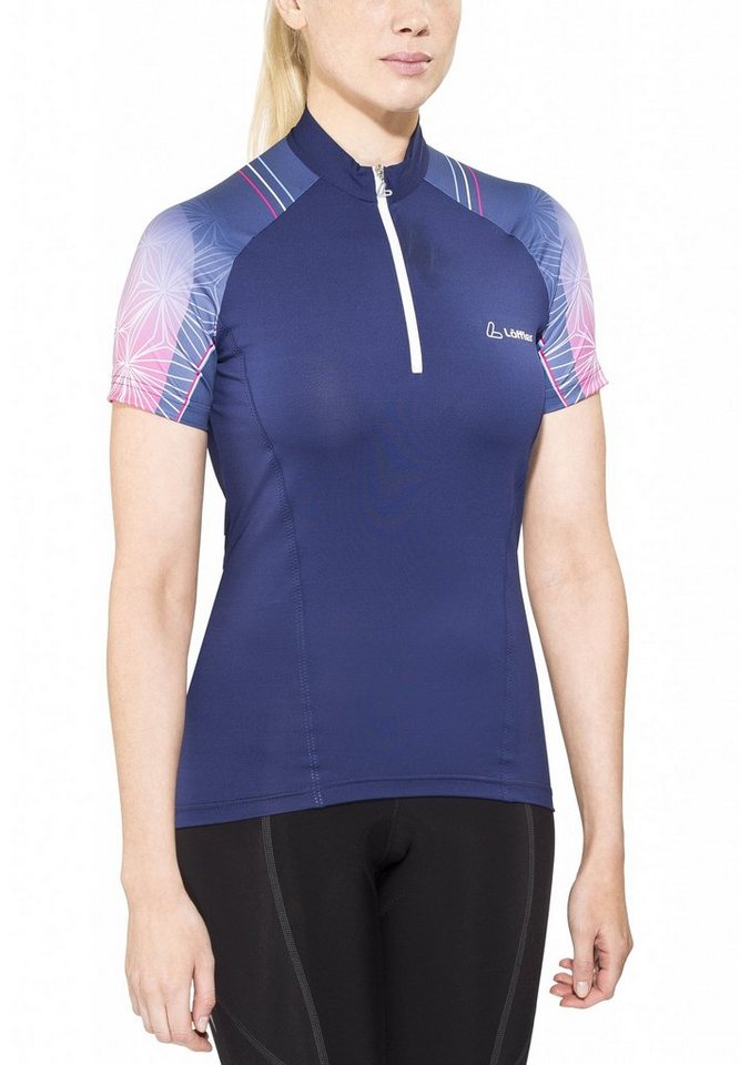 Löffler Radtrikot »Hotbond HZ Bike Trikot Damen« in blau