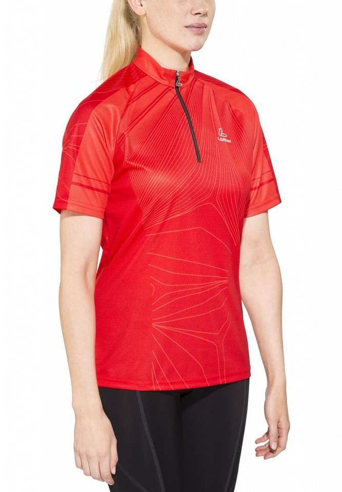 Löffler Radtrikot »Bike Shirt HZ Damen« in rot