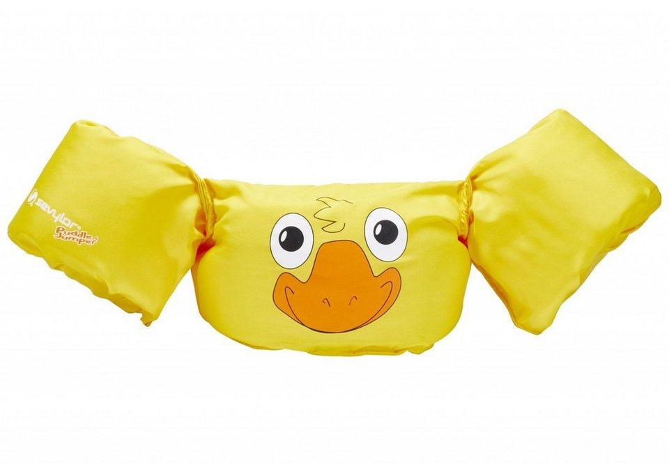 Sevylor Schwimmweste »Puddle Jumper Schwimmflügel Ente« in gelb