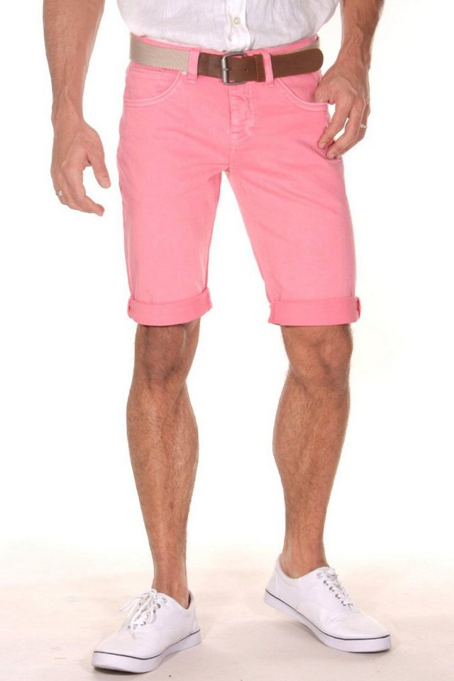 Bright Jeans Denim Shorts in pink
