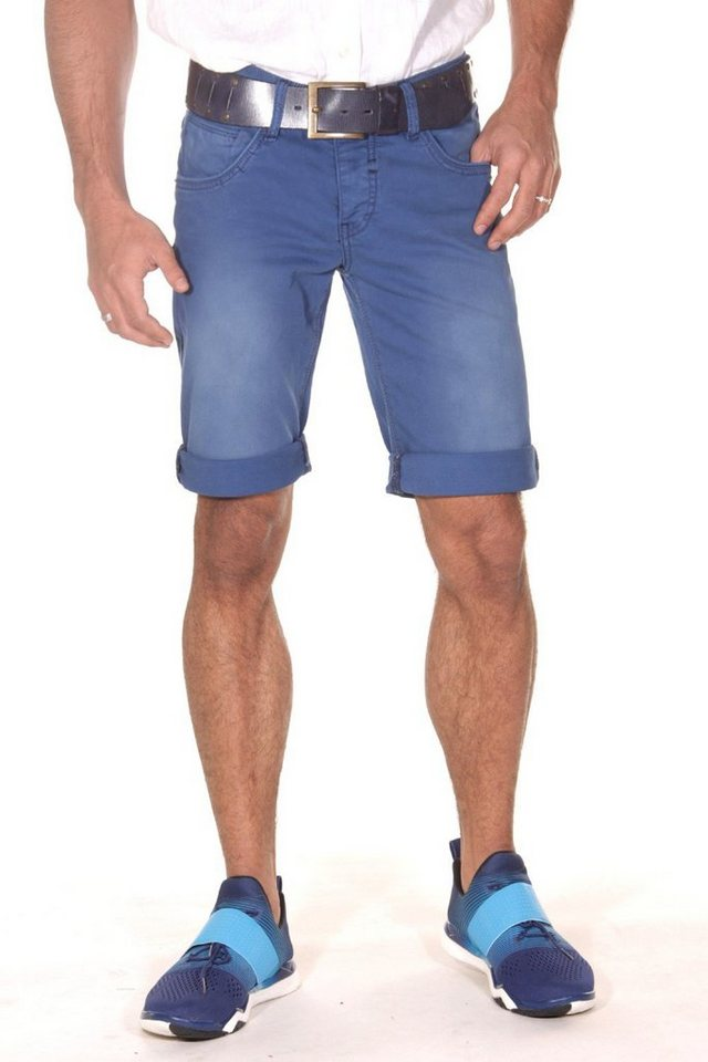 Bright Jeans Denim Shorts in blau