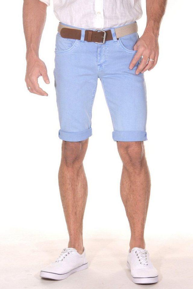Bright Jeans Denim Shorts in hellblau
