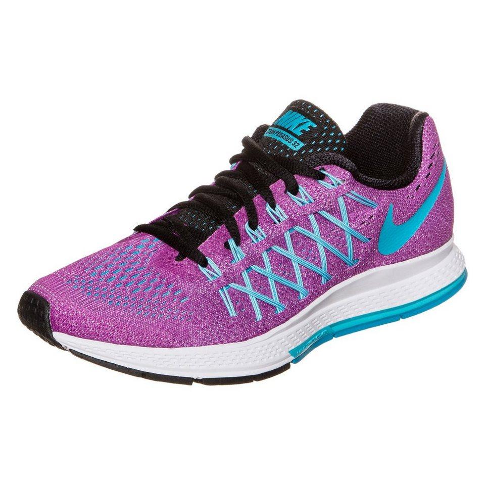 NIKE Air Zoom Pegasus 32 Laufschuh Damen in violett / blau