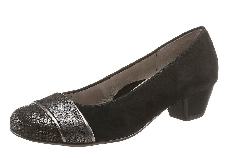 Ara Pumps in schwarz