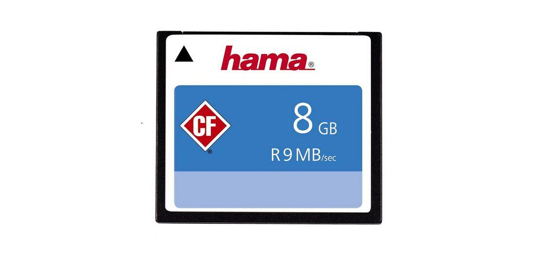 CompactFlash® Card, Hama, »High Speed CompactFlash 8GB 60X«