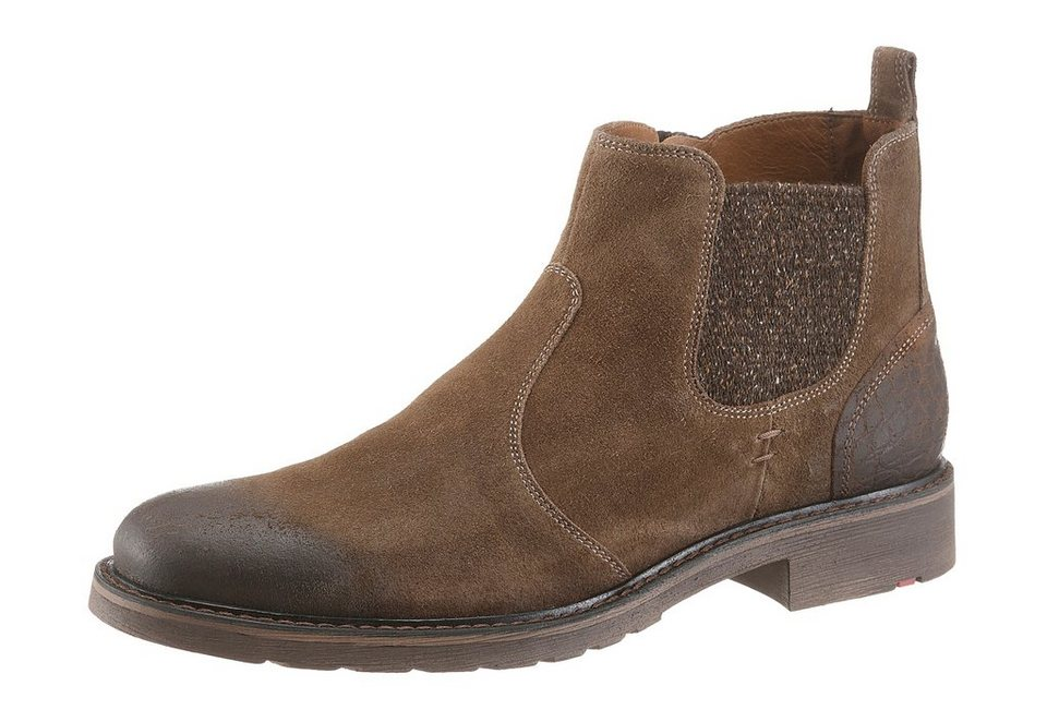 Lloyd »Frank« Chelseaboots im Used Look in braun-used