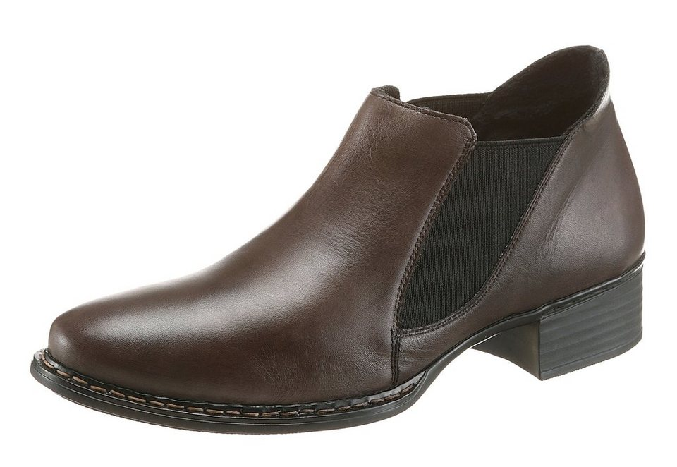 Rieker Chelseaboots in anthrazit