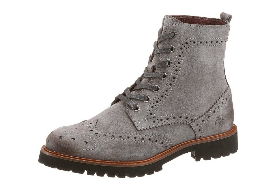 Marc O'Polo Schnürboots in grau