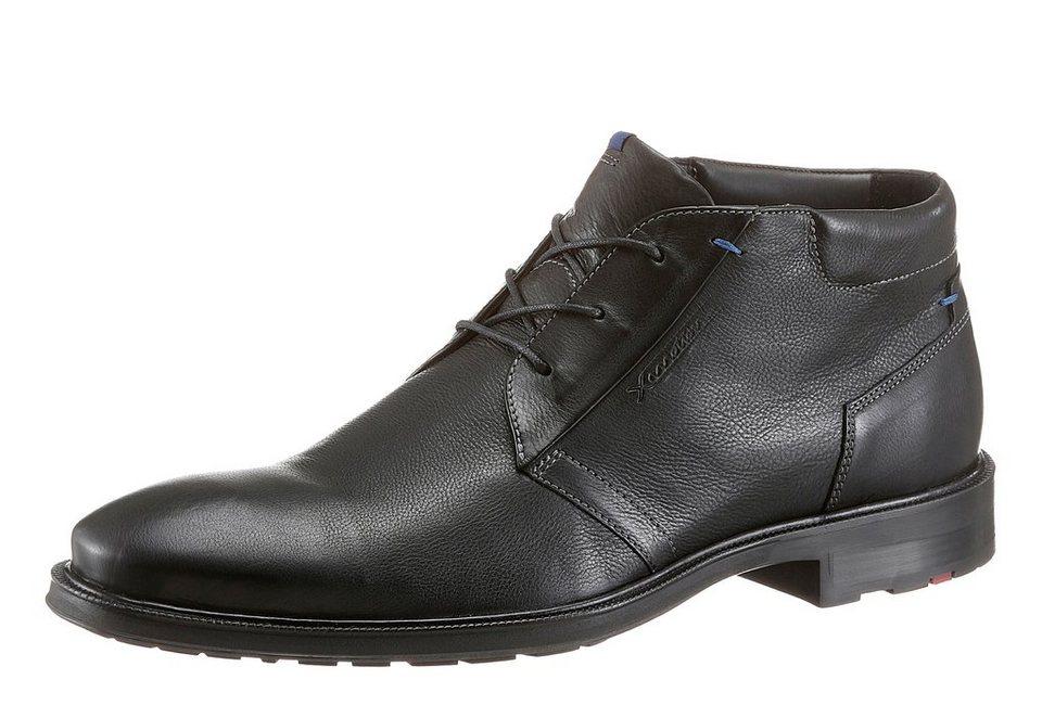 Lloyd »Marik« Stiefel mit gepolstertem Schaftrand in schwarz