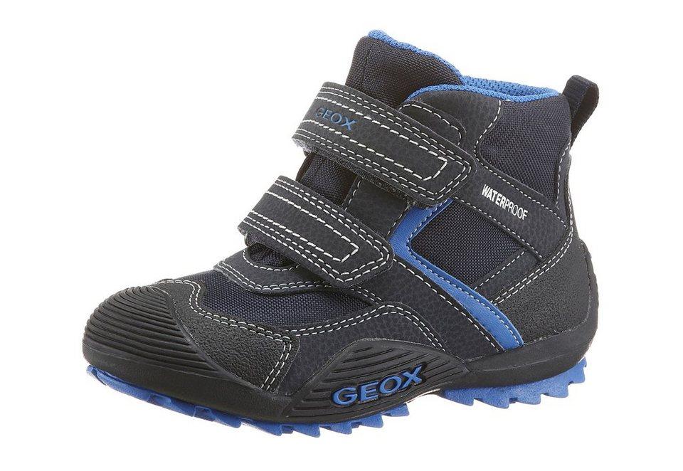 Geox Stiefelette mit Tex Ausstattung in schwarz-navy
