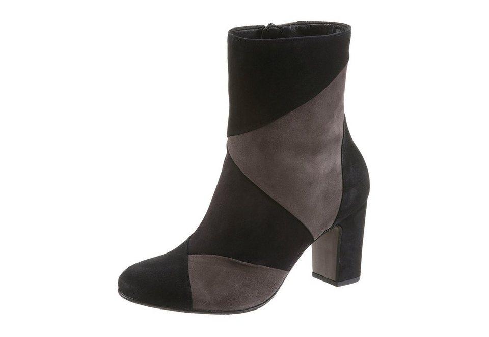 Gabor Stiefelette in schwarz-grau