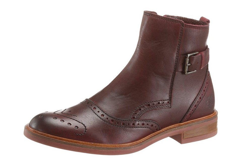 Marc O'Polo Chelseaboots in bordeaux