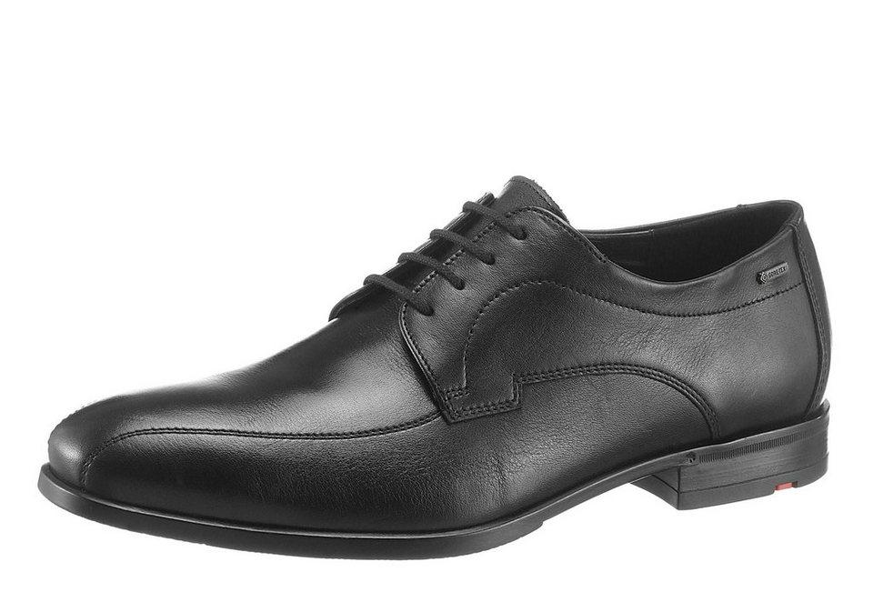 Lloyd »Valentino« Schnürschuh mit Gore-TEX in schwarz