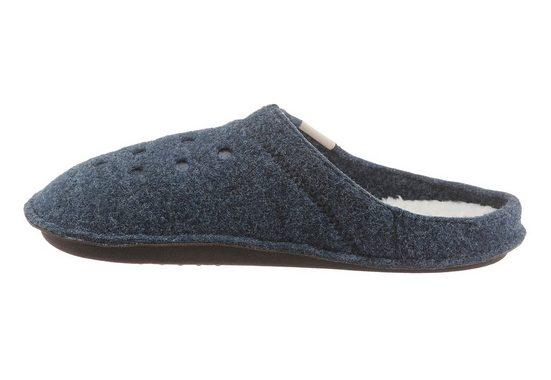 Crocs Classic Slipper Hausschuh, mit Warmfutter