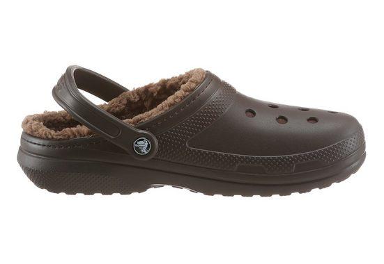 Sabot De Sabot Doublé Crocs Classique, Mit Kuscheligem Fellimitat