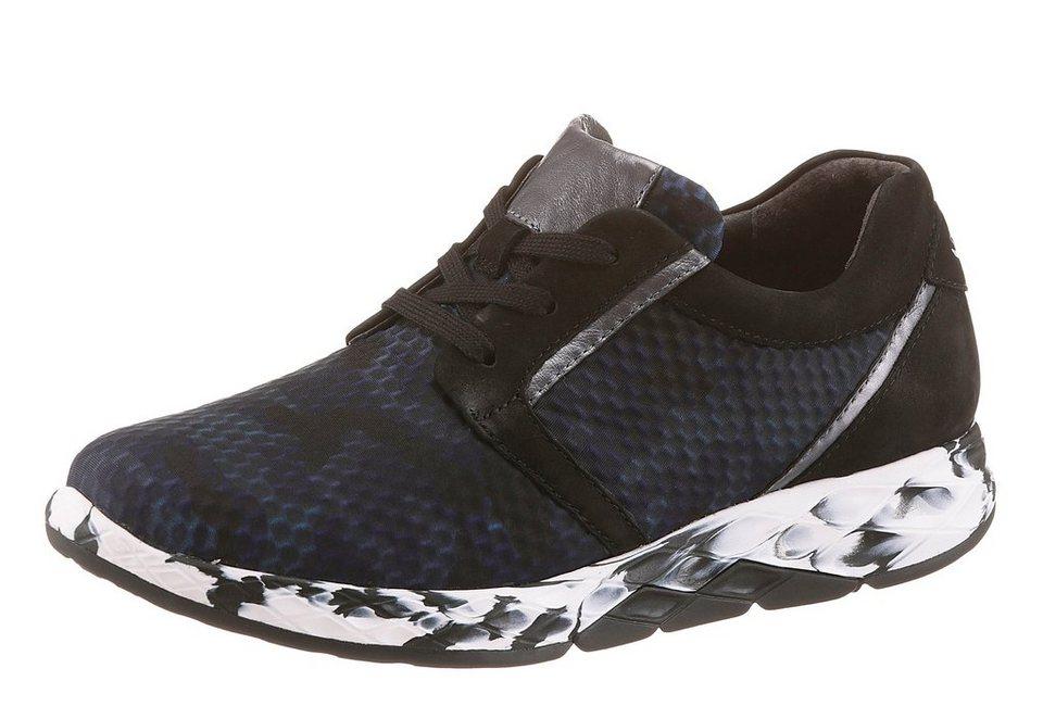 Gabor Rollingsoft Sneaker in schwarz-blau
