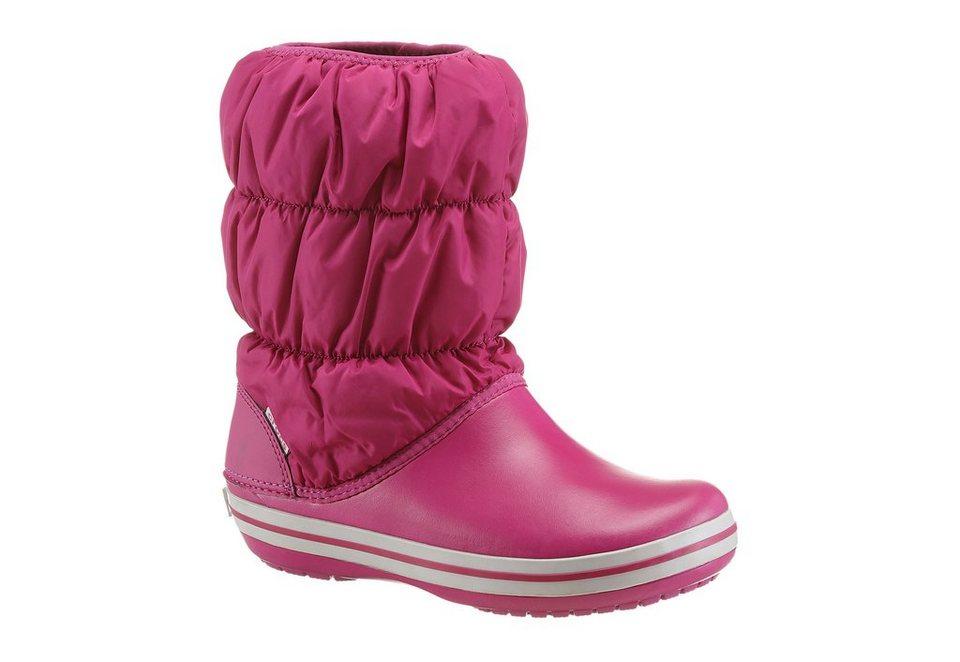 Crocs Stiefel aus leichtem Croslite Material in pink