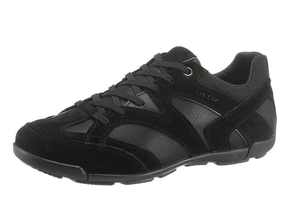 Geox Sneaker mit Logo Prägung in schwarz
