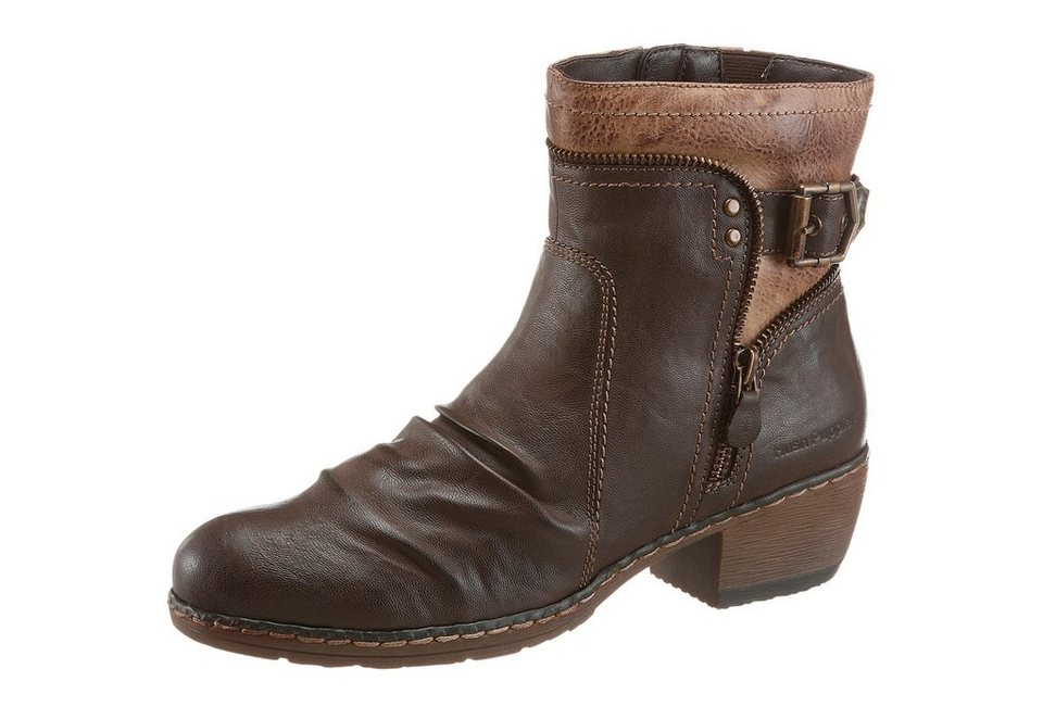 Hush Puppies Stiefelette in dunkelbraun