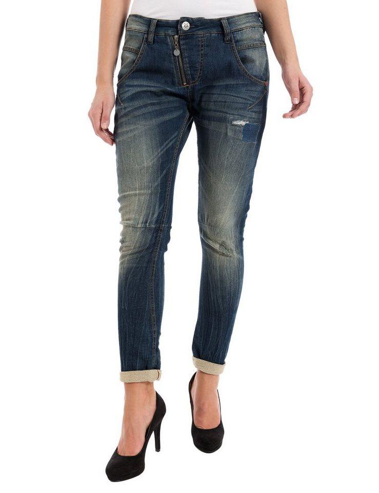 "TIMEZONE Jeans »SueTZ ""3931 blue tint wash""« in blue tint wash"
