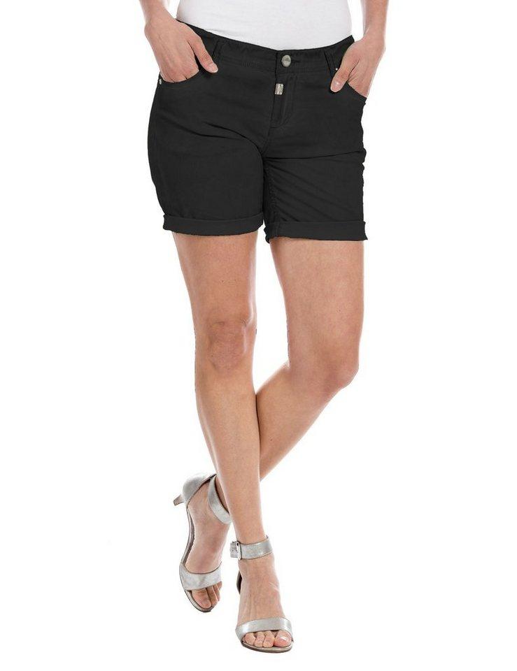 TIMEZONE Hosen kurz »AlexaTZ 5-pocket shorts« in caviar black