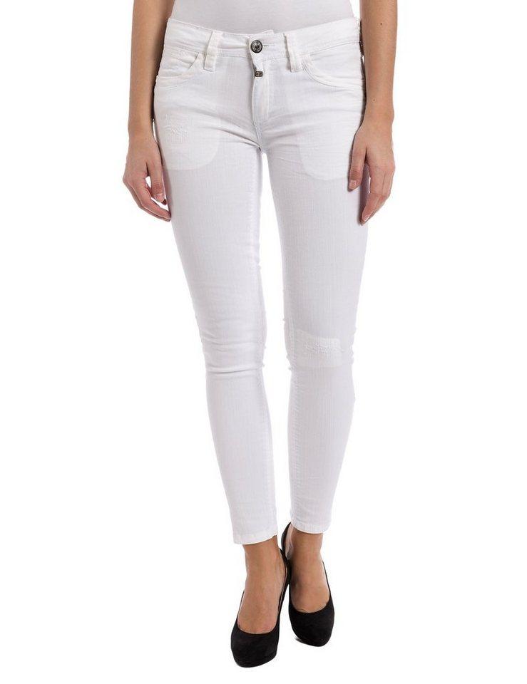 TIMEZONE Jeans »AureliaTZ 5-pocket pants« in pure white
