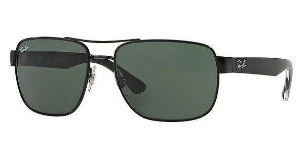 RAY-BAN Herren Sonnenbrille » RB3530« in 002/71 - schwarz/grün