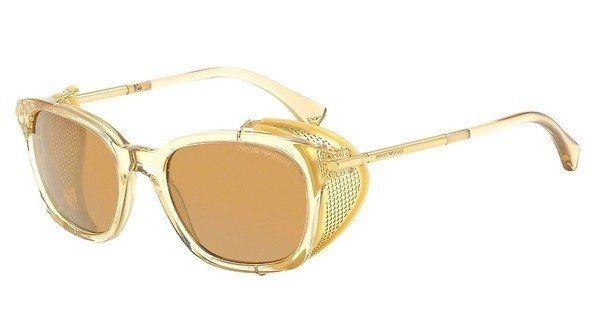 Emporio Armani Herren Sonnenbrille » EA4028Z« in 52076H - gold/gold