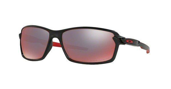 Oakley Herren Sonnenbrille »CARBON SHIFT OO9302« in 930204 - schwarz/rot
