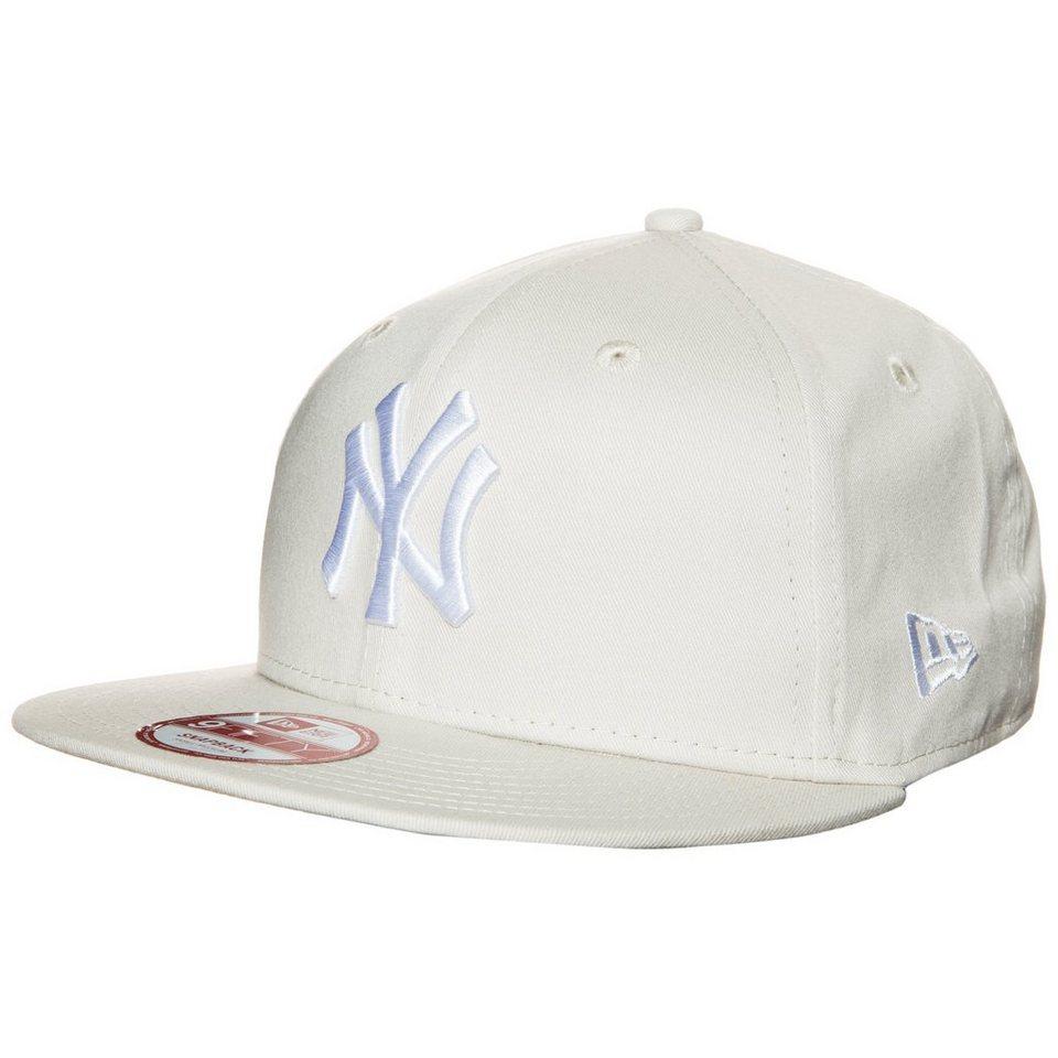 New Era 9FIFTY MLB League Essential New York Yankees Cap in beige / weiß