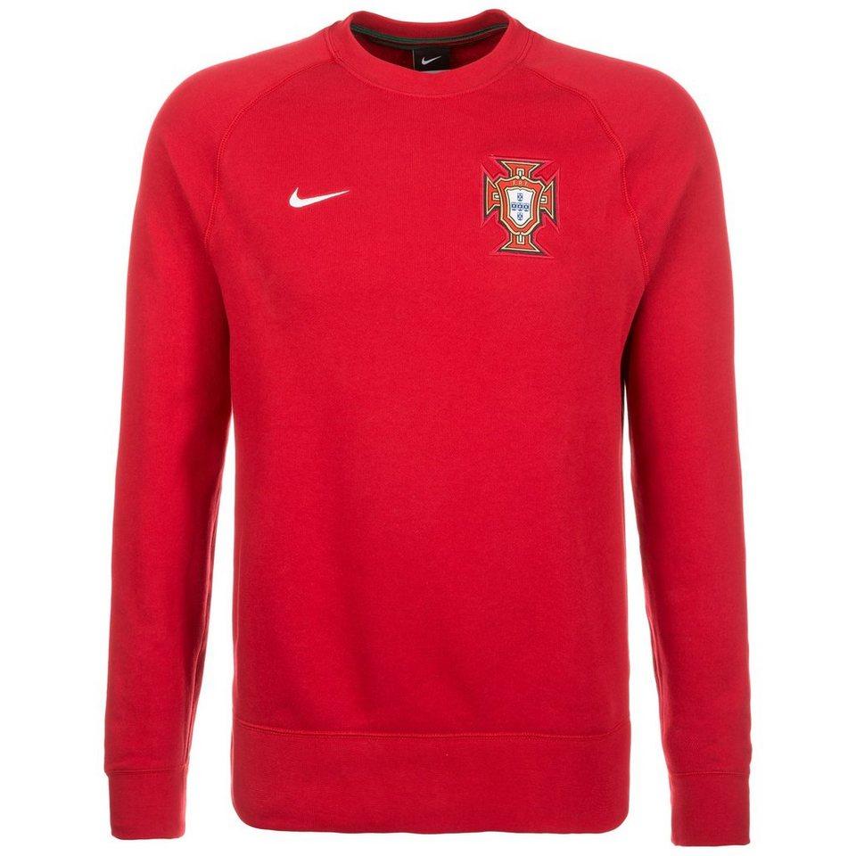 NIKE Portugal AW77 Sweatshirt EM 2016 Herren in rot