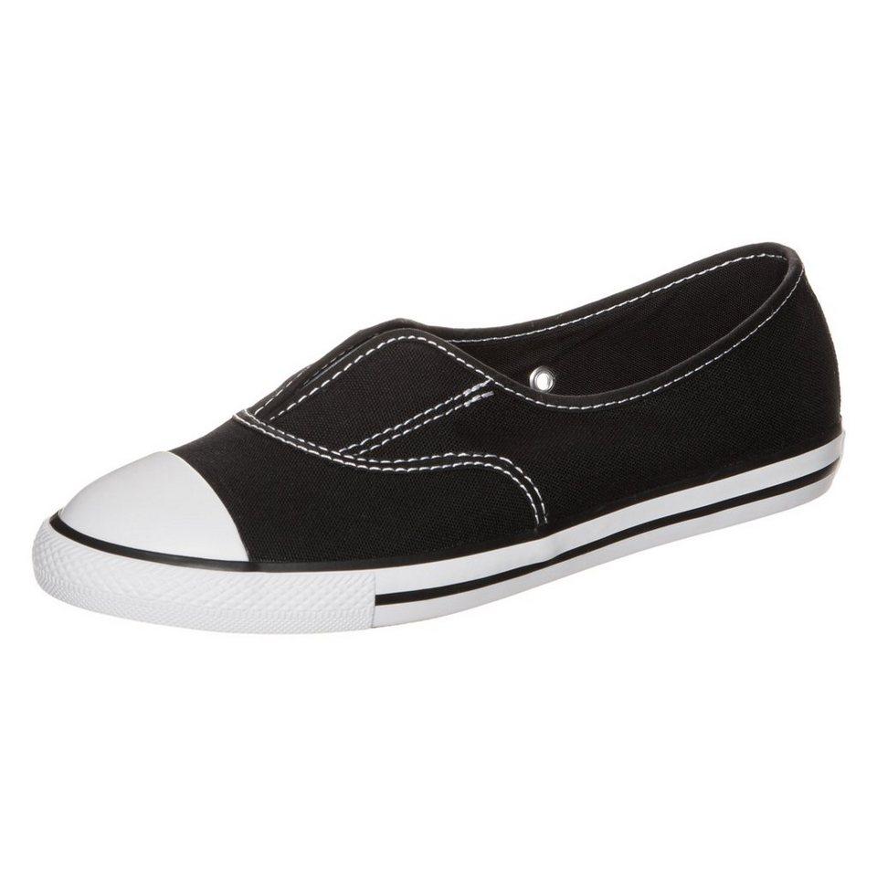 CONVERSE Chuck Taylor All Star Cove Slip OX Sneaker Damen in schwarz / weiß