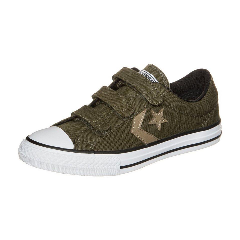 CONVERSE Star Player EV 3V OX Sneaker Kinder in olivgrün / weiß