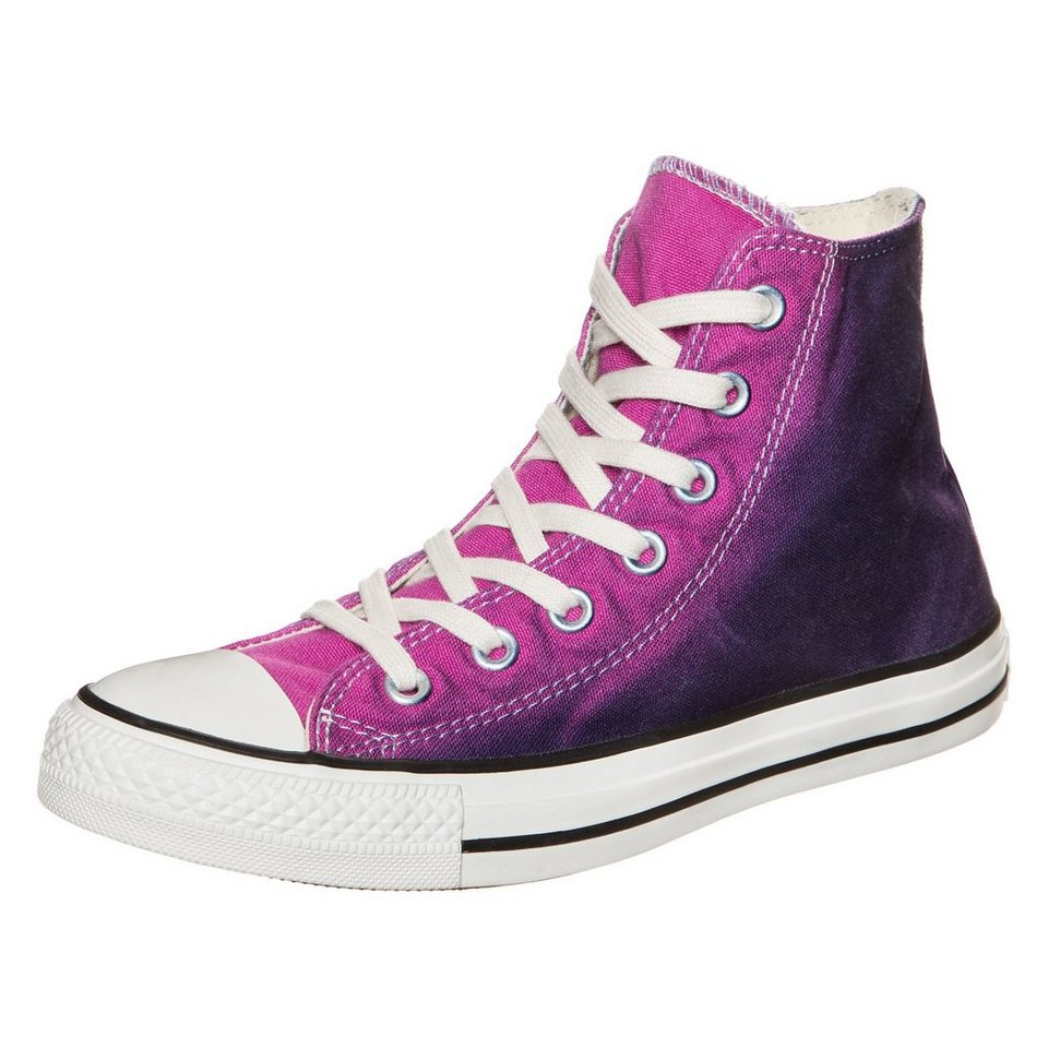 CONVERSE Chuck Taylor All Star High Sneaker in pink / lila / weiß