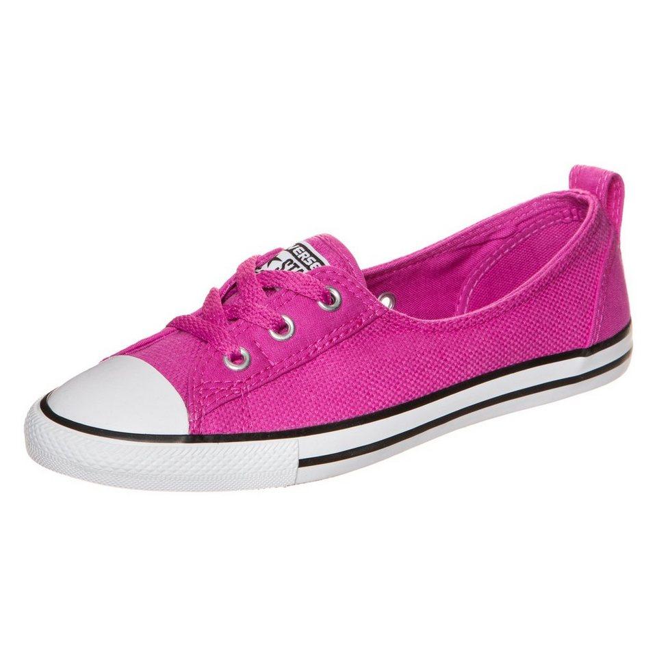 CONVERSE Chuck Taylor All Star Ballet Lace Slip Sneaker Damen in pink / weiß