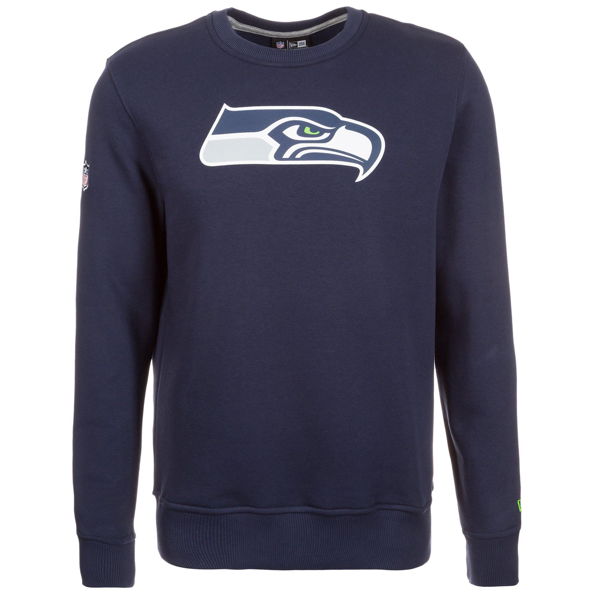 New Era NFL Team Logo Seattle Seahawks Sweatshirt Herren