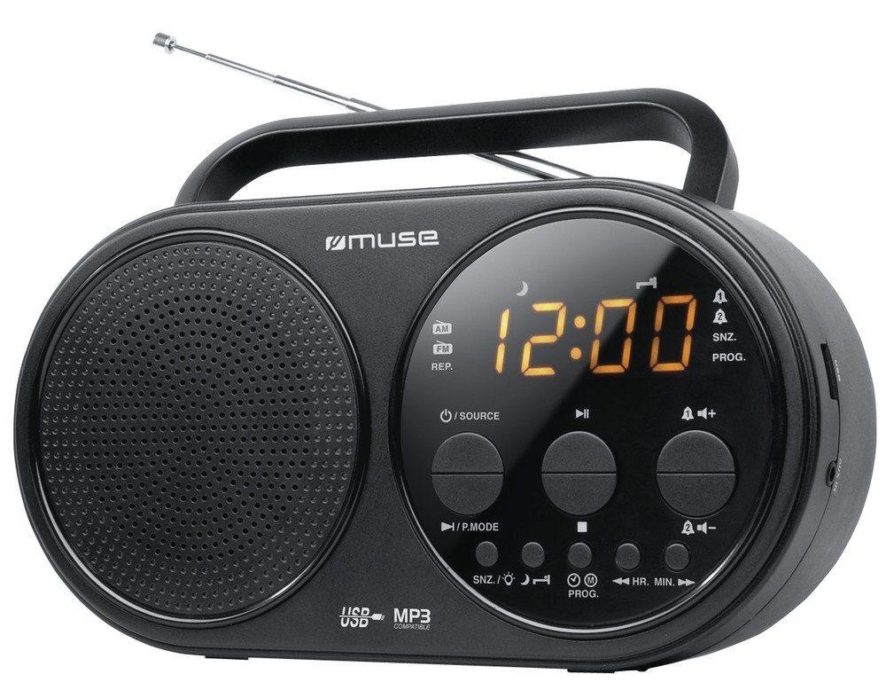 Muse Tragbares Uhrenradio »M-088 R«
