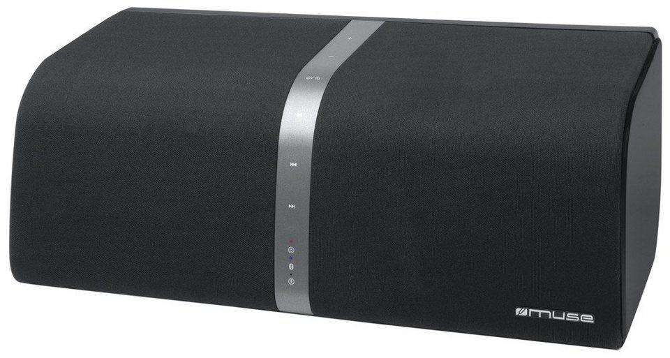 Muse Bluetooth-Stereo-Lautsprecher »M-800 BT« in schwarz